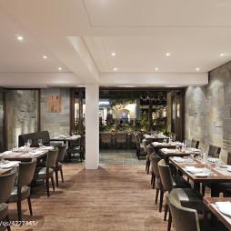 意大利餐厅过道装修设计