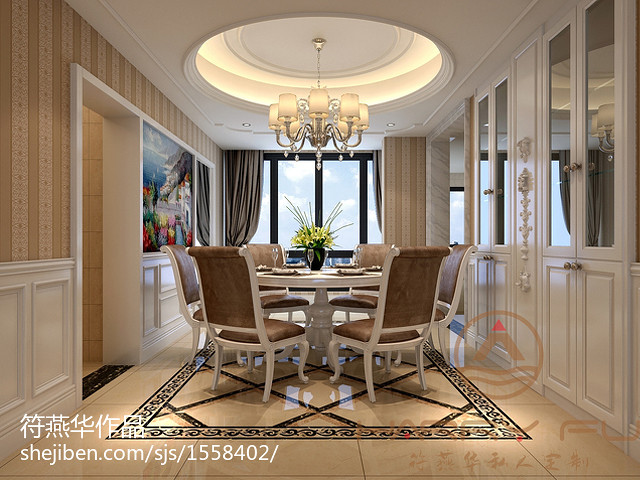欧式风格家庭装饰装修图