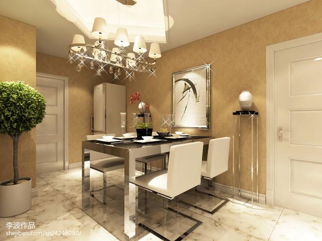 现代风格家庭装饰装修图
