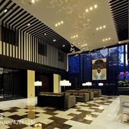 酒店大堂装修设计效果图