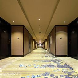 酒店走廊装修设计效果图