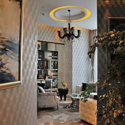 售楼中心客厅吊顶设计