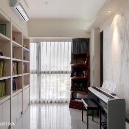 简约现代风格书房设计图片