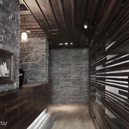 主题餐厅过道装修设计