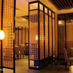 中餐厅隔断图片