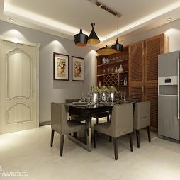 现代餐厅装饰柜设计效果图汇总