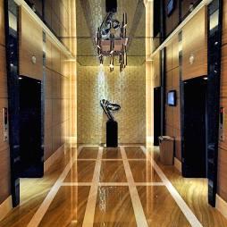 酒店电梯吊顶效果图