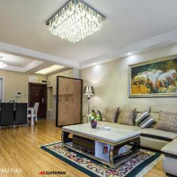 现代客厅家具布置效果图汇总