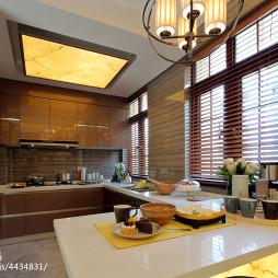 混搭风格厨房吊顶样板间设计