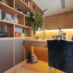 混搭风格书房样板间设计