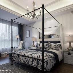 地中海卧室窗户设计