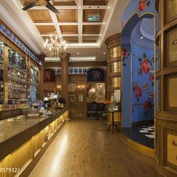 英式茶馆服务台装修设计