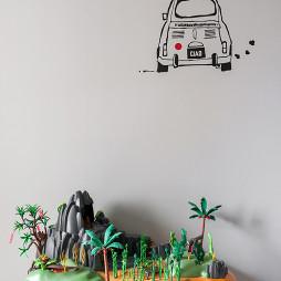 墙面彩绘设计效果图库