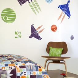 墙面彩绘设计效果图集推荐