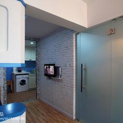 小户型地中海客厅电视背景墙效果图