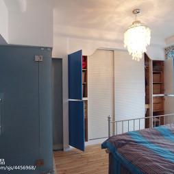 小户型地中海卧室衣柜设计