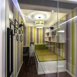 港式风格橡木地板装饰设计