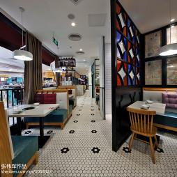高档餐馆隔断设计