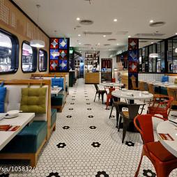 高档餐馆设计效果图