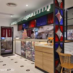 高档餐馆收银台设计