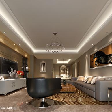 7米长客厅装修设计