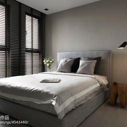 简约现代风格卧室窗户装修