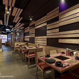 小餐馆背景墙装修设计