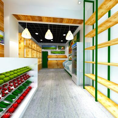 伟浩生态超市店面形象设计_1934802