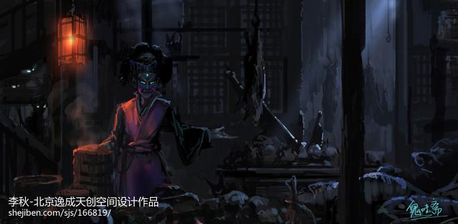李秋作品:万达南昌鬼屋_193522