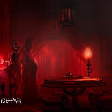 李秋作品:万达南昌鬼屋_1935255