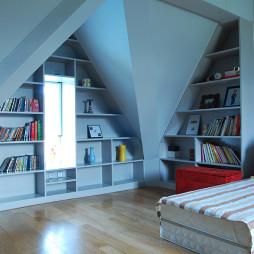 简约别墅现代书房设计