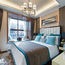 港式卧室飘窗装修设计