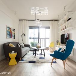 小户型欧式客厅隔断装修设计