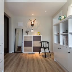 小户型欧式玄关鞋柜装修设计