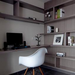 简约现代风格书房装修设计