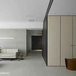 简约现代别墅客厅过道设计