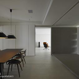 简约现代别墅餐厅吊顶设计