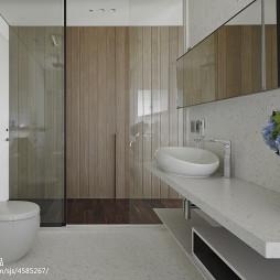简约现代别墅卫生间设计