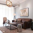 小户型欧式风格客厅窗帘设计