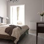 小户型欧式风格卧室飘窗设计