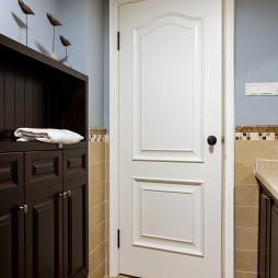 四居室美式过道鞋柜装修设计