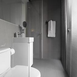 宾馆卫生间隔断装修设计