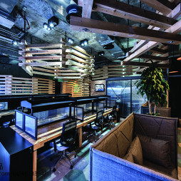 后现代创意办公室吊顶设计