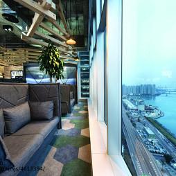 后现代创意办公室阳台设计