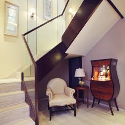 混搭风格楼梯别墅样板间设计