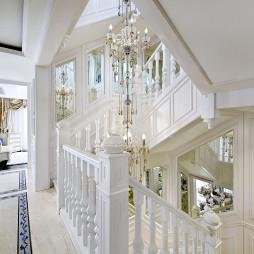 混搭风样板间楼梯装修设计