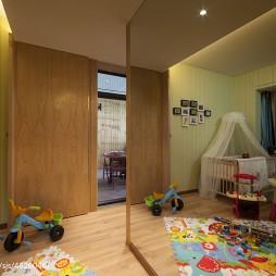 二居小户型混搭儿童房装修效果图