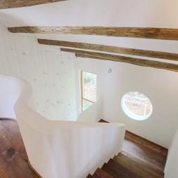 别墅混搭风格楼梯装修