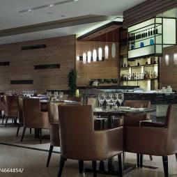 高级酒店酒吧装修设计