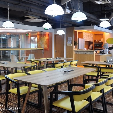 办公空间餐厅装修设计